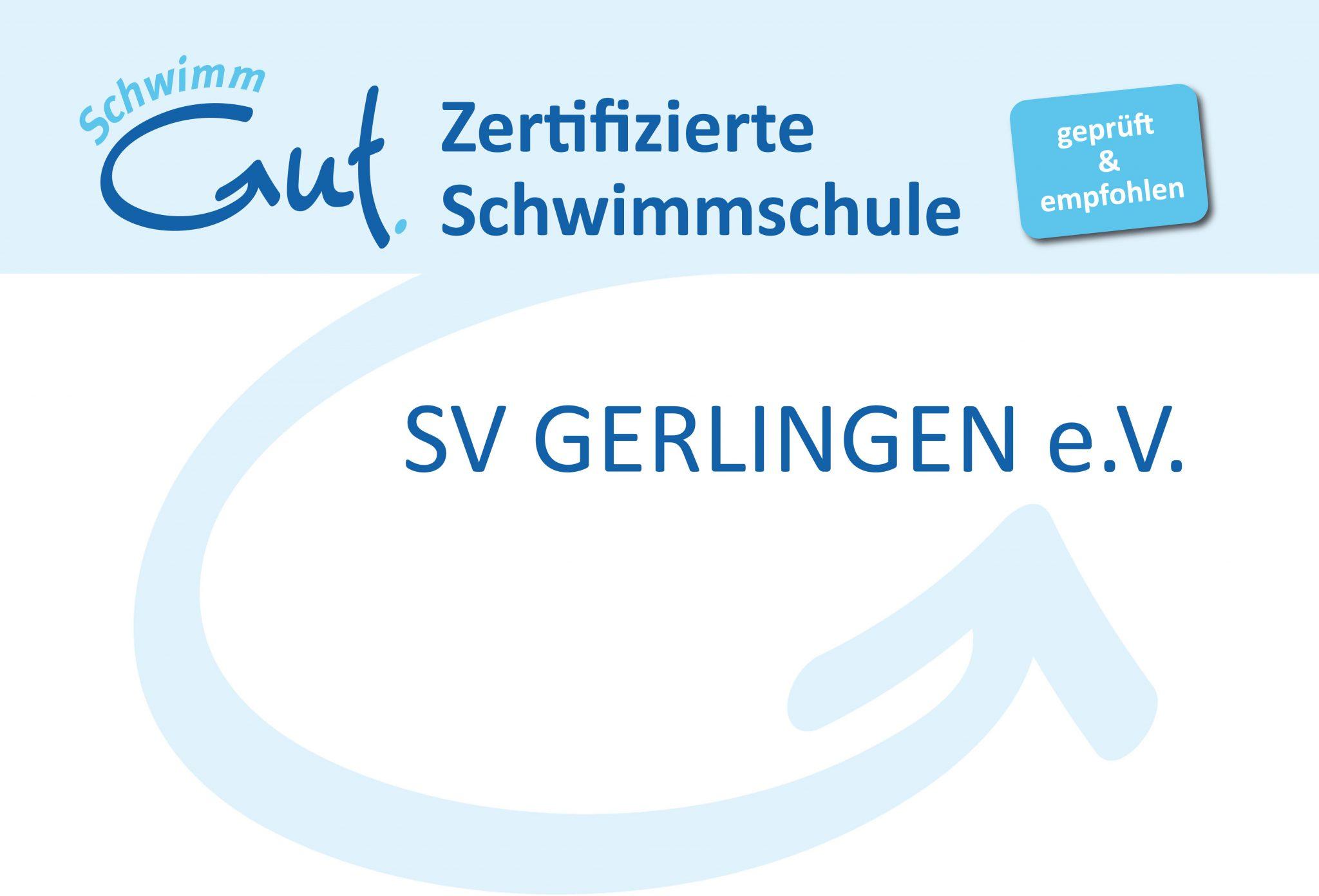 SV Gerlingen ist anerkannte Schwimmschule